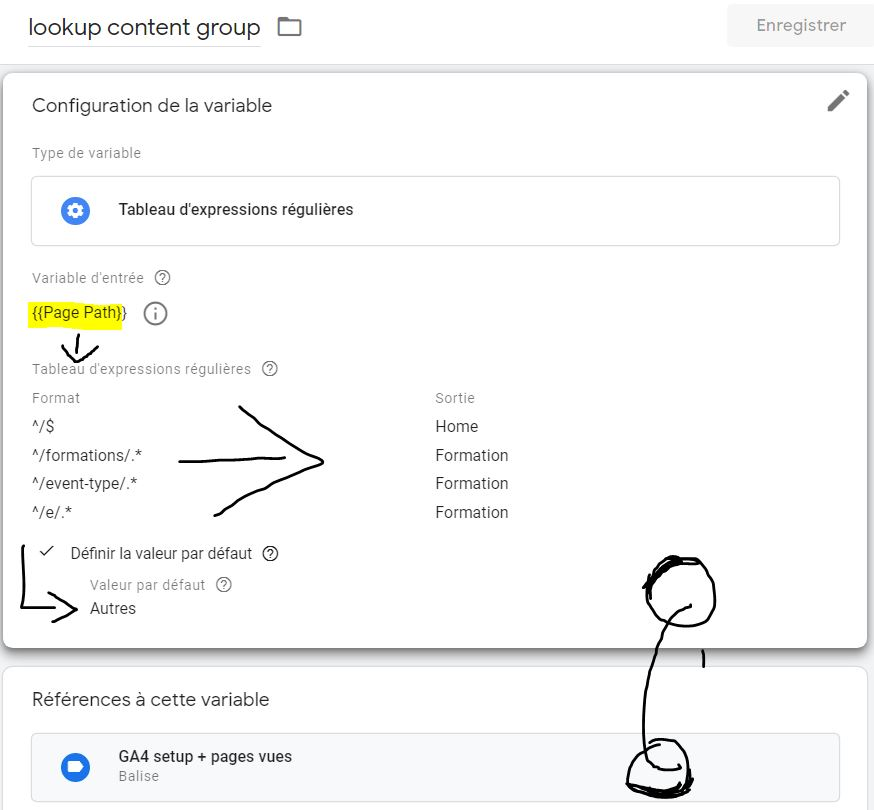 GA4-content_group-gtm-tableau-regex-formations-analytics